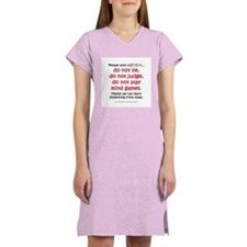 No Games (People) Women's Nightshirt