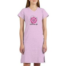 I Shoot Like a Girl Women's Nightshirt