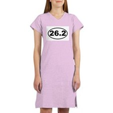 26.2 Marathon Women's Nightshirt