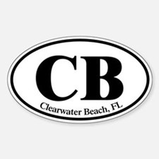 CB Clearwater Beach Decal