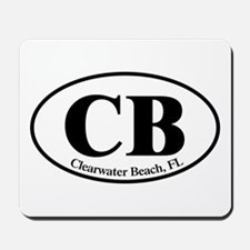 CB Clearwater Beach Mousepad