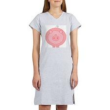 Pig Women's Pink Nightshirt