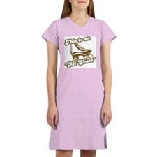 This is an All Skate Women's Pink Nightshirt