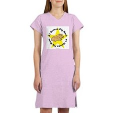 #1 Guinea Pig Mom Women's Nightshirt