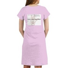 Love a Deaf Dog Today! Women's Nightshirt