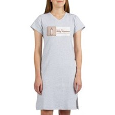 Save the Baby Humans Budget Nightshirt