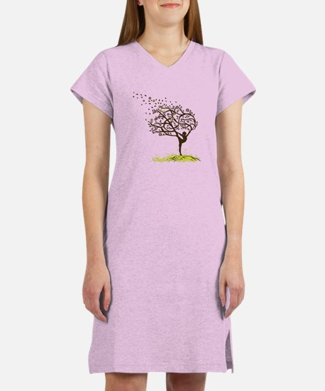 Stretching My Limbs Women's Nightshirt