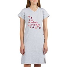 My Babies have Paws Women's Nightshirt