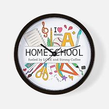 Homeschool Wall Clock