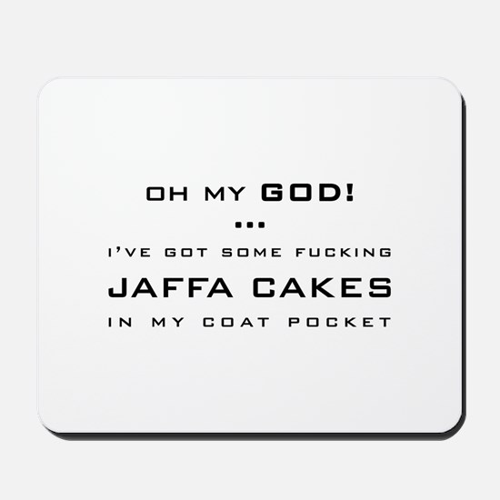 Spaced Jaffa Cakes Mousepad