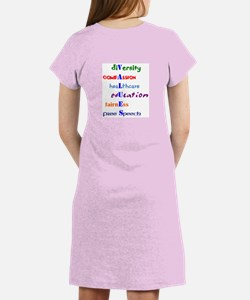 Liberal Values Womens Nightshirt