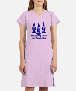 Hanging with my Gnomies Women's Nightshirt