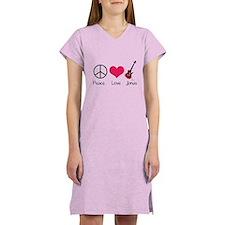Peace Love Jonas Women's Nightshirt