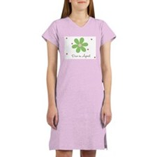 Due In April Women's Nightshirt