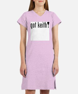 Cute Keith Women's Nightshirt