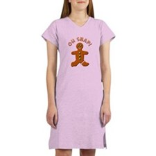 Oh Snap Detailed Women's Nightshirt