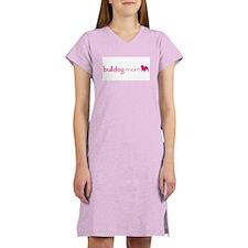 Bulldog Mom Women's Nightshirt