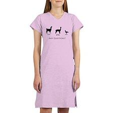Llama, Alpaca, Duck... Any Qu Women's Light Nights
