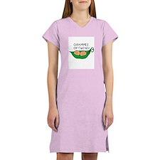 Grammie of Twins Women's Pink Nightshirt