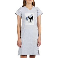 Round Kick 2 Women's Nightshirt