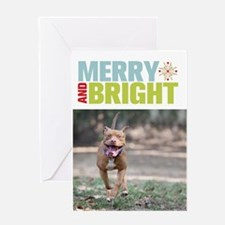 StubbyDog Merry & Bright Greeting Card