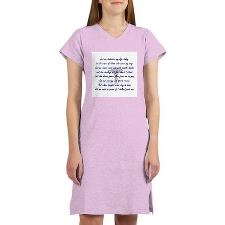 Physical Therapist's Prayer Women's Nightshirt