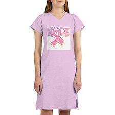 Breast Cancer: Hope Women's Nightshirt