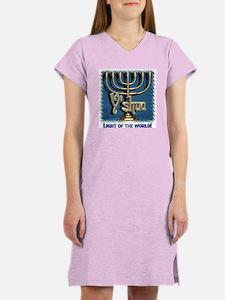 Y'shua, Light of the World! Women's Nightshirt