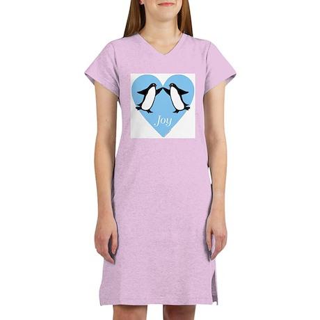 Penguin Nightshirt, Women's: Joy - Dancing Penguin