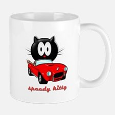 speedy kitty Mug