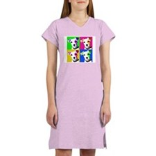 Jack Russell Pup Women's Nightshirt