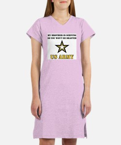 Brother Serving Draft Army Women's Nightshirt