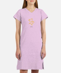 Peep, The Little Chick Women's Nightshirt