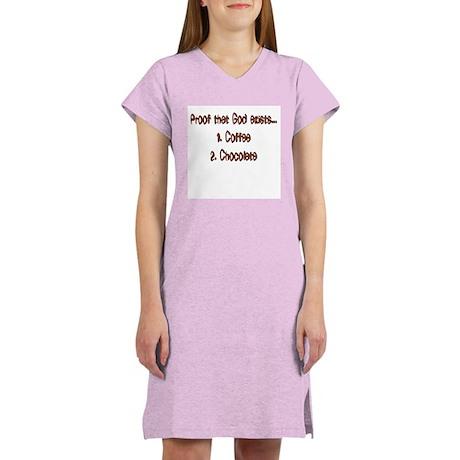 """""""Proof God Exists"""" for women Women's Nightshirt"""