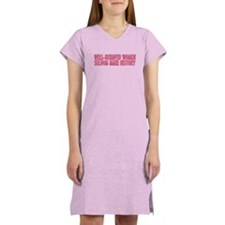 Well-behaved women Women's Nightshirt