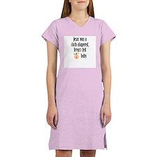 Jesus cloth-diapered breast-fed Women's Nightshirt