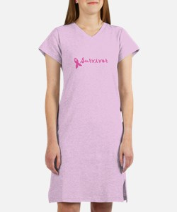Survivor (pink) Women's Nightshirt