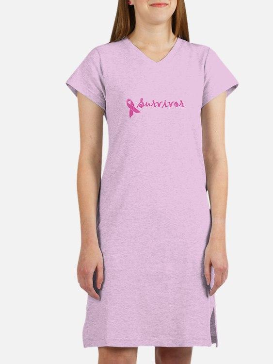 Survivor (pink) Women's Nightshirt