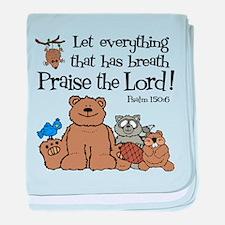 Psalm 150:6 baby blanket