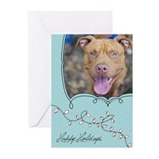 StubbyDog Holiday Lights Greeting Cards (Pk of 20)