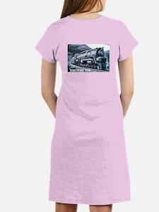 Baldwin S-2 Steam Locomotive Women's Pink Nightshi