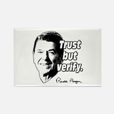 Ronald Reagan Quote Trust But Verify Rectangle Mag