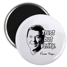 Ronald Reagan Quote Trust But Verify Magnet