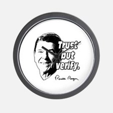 Ronald Reagan Quote Trust But Verify Wall Clock