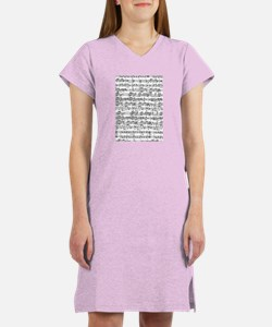 Music Women's Nightshirt