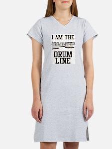 Quad Drummer Women's Nightshirt