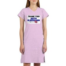 Thank You Keith Olbermann Women's Nightshirt