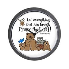 Psalm 150:6 Wall Clock