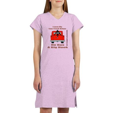 Tow Truck Driver Gift Women's Nightshirt