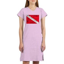 Rules of SCUBA Women's Nightshirt
